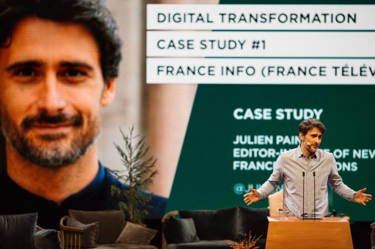 Julien Pain, de France Info, en Copenhaguen.