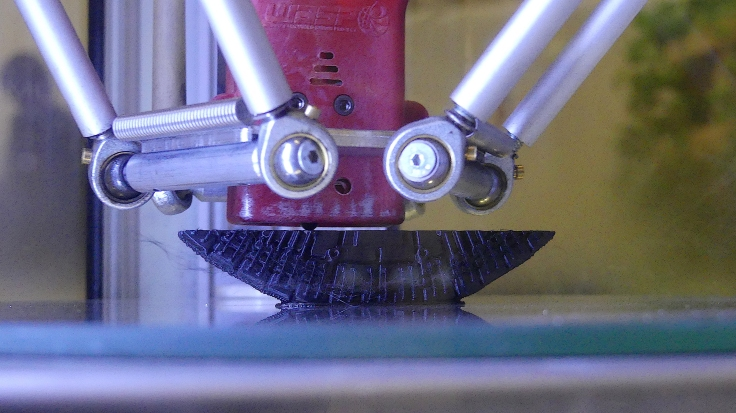 Detalle de impresora 3D. FOTO: ANNA LLADÓ