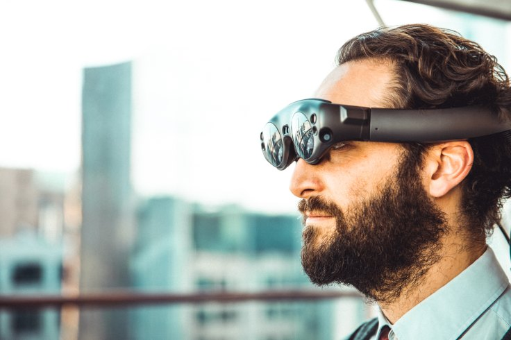 Gafas de realidad aumentada de Magic Leap. FOTO: MY NAME IS YANICK.
